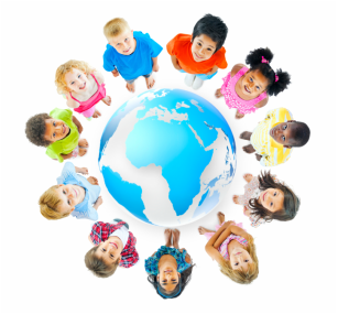 Children around globe